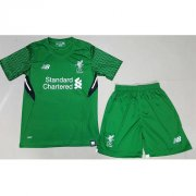 Liverpool Away Soccer Kits 2017/18 Shirt and shorts Kids