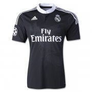 Real Madrid 14/15 Dragon Black Third Soccer Jersey
