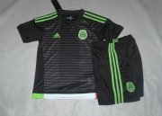 Kids Mexico Home Soccer Kit 2015 (Shorts+Shirt)