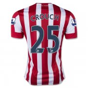 Stoke City Home Soccer Jersey 2015-16 CROUCH #25