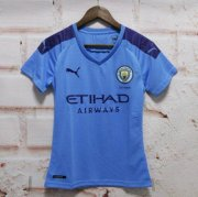 Manchester City Home Women Soccer Jerseys 2019/20