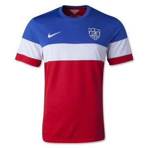 2014 World Cup USA Away Red Soccer Jersey