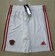 Russia Home White Soccer Shorts 2020