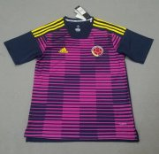Colombia Training Soccer Jersey 2018 World Cup Pink