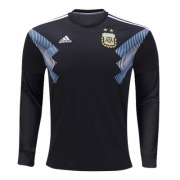 Argentina Away Soccer Jersey Shirt LS 2018 World Cup