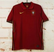 Portugal Home Red Soccer Jerseys 2020