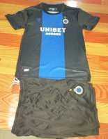 Children Club Brugge KV Home Soccer Suits 2020/21 Shirt and Shorts