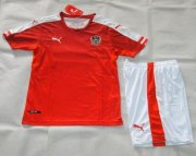 Kids Austria Home Soccer Kit 2016 Euro (Shirt+Shorts)