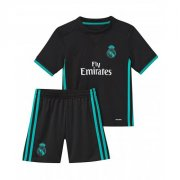 Real Madrid Away soccer suits 2017/18 shirt and shorts Kids