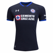 Cruz Azul Third Soccer Jersey 2017/18 Black