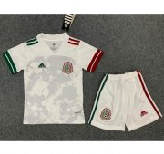 Children Mexico Away Soccer Suits 2020 Shirt and Shorts