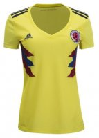 Colombia Home Soccer Jersey Women 2018 World Cup