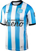 Argentina Racing Club Home Soccer Jersey 2015-16