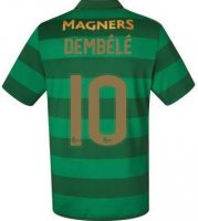 Celtic Away Soccer Jersey 2017/18 Dembele #10