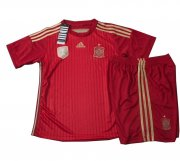 Kids 2014 World Cup Spain Home Whole Kit(Shirt+Shorts)