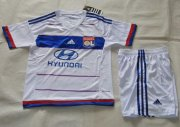 Kids LYON Home Soccer Kit 2015-16(Shirt+Shorts)