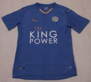 Leicester City Home Soccer Jersey 2015-16