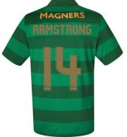 Celtic Away Soccer Jersey 2017/18 Armstrong #14