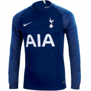 18-19 Tottenham Hotspur Long Sleeve Away Soccer Jersey Shirt