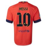 Barcelona 14/15 MESSI #10 Away Soccer Jersey