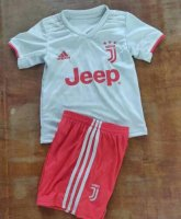Children Juventus Away Soccer Suits 2019/20 Shirt and Shorts