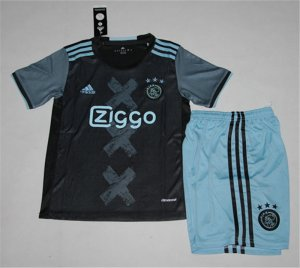 Kids Ajax Away Soccer Kit 16/17 (Shirt+Shorts)