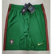 Portugal Home Green Soccer Shorts 2020