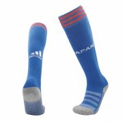 Japan Home Blue Soccer Socks 2020