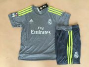 Kids Real Madrid Away Soccer Kits 2015-16(Shirt+Shorts)