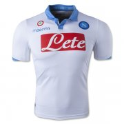 Napoli 14/15 White Third Soccer Jersey