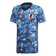 Japan Home Blue Soccer Jerseys Shirt 2020