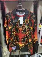 Retro Japan Goalkeeper Black Soccer Jerseys 1998