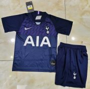 Children Tottenham Hotspur Away Soccer Suits 2019/20 Shirt and Shorts