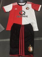 Kids Feyenoord Home Soccer Kit 2017/18 (Shirt+Shorts)