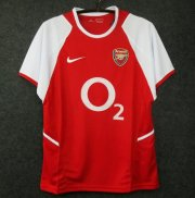 Retro Arsenal Home Soccer Jerseys 2002/03