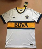 Boca Juniors 14/15 White Away Soccer Jersey