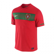 World Cup Portugal 2010 Home Red Retro Jerseys Shirt