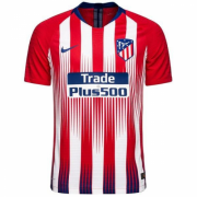 Player Version 18-19 Atletico Madrid Home Soccer Jersey Shir