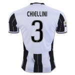 Juventus Home Soccer Jersey 2016-17 3 CHIELLINI