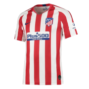 Player Version 19-20 Atletico Madrid Home Red&White Soccer Jersey Shirt