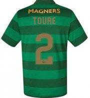 Celtic Away Soccer Jersey 2017/18 Toure #2