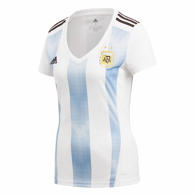 Argentina Home Soccer Jersey Shirt Women 2018 World Cup