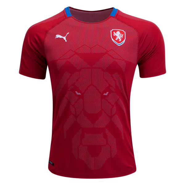 Czech Republic Home Soccer Jersey 2018 World Cup