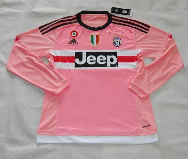juventus away soccer jersey 2015 16 pink ls juventus benz7 best discount soccer jerseys cheap kit store juventus away soccer jersey 2015 16