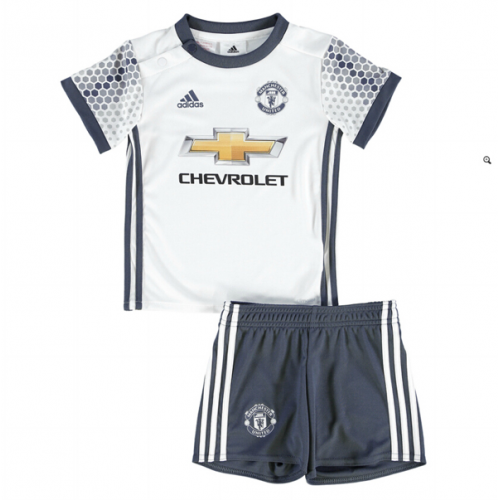 Kids Manchester United Third Soccer Kits 16/17 (Shirt+Shorts)