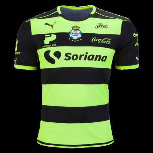 Santos Laguna Away Soccer Jersey 16 17 Santos Laguna Benz7 Best Discount Soccer Jerseys Cheap Kit Store